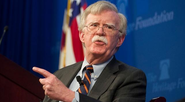 Bolton: ABnin İrana yaptırımlarını güçlü şekilde destekliyoruz