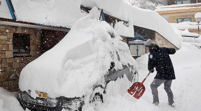 Avrupada kar alarmı