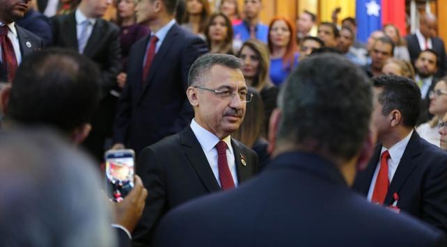 Cumhurbaşkanı Yardımcısı Fuat Oktay, Maduronun yemin törenine katıldı