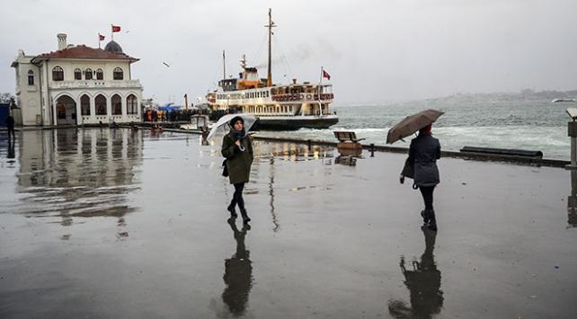 Marmarada sağanak bekleniyor