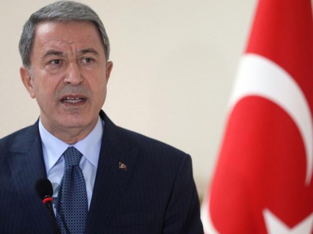 Milli Savunma Bakanı Akar: Önümüzde Münbiç, Fıratın doğusu var
