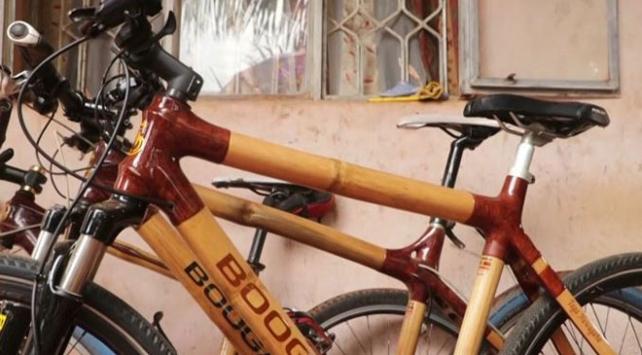 Uganda'nın bambu bisikletleri