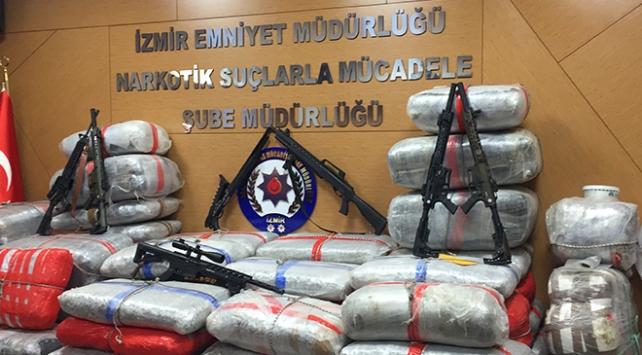 Türk polisi, Avrupadan Türkiyeye skunk rotasını deşifre etti