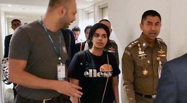 Taylandda alıkonulan Suudi genç kadın Kanadaya gidiyor