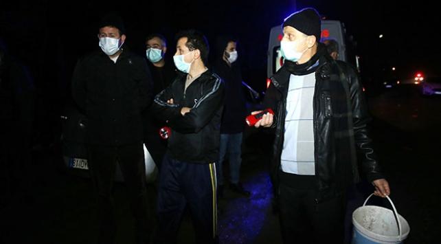 Düzcede fabrikadan yayılan gaz nedeniyle mahalle tahliye edildi