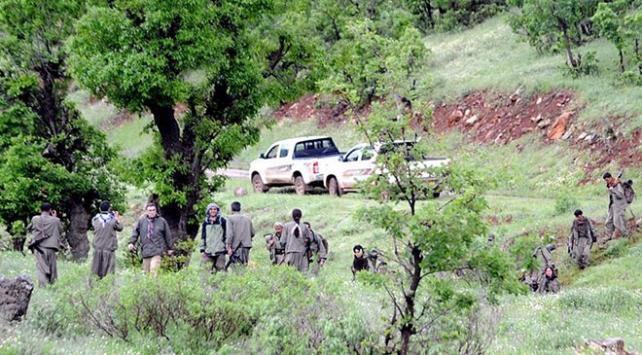 Teslim olan PKKlı terörist örgütün kirli yüzünü anlattı