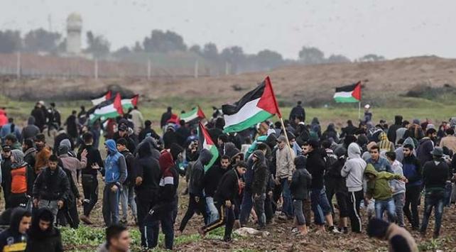 İsrail askerleri Batı Şeriada 7 Filistinliyi yaraladı