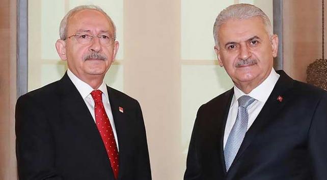 TBMM Başkanı Yıldırımdan Kılıçdaroğluna taziye telgrafı