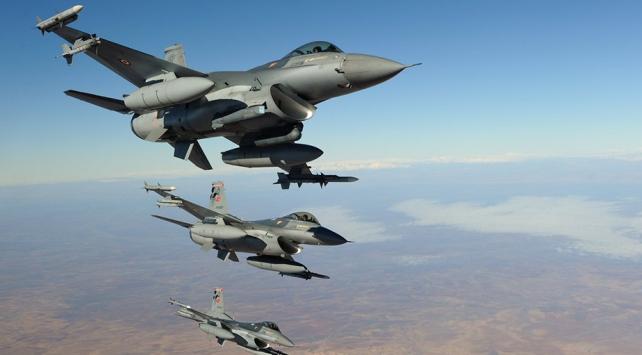 Irakın kuzeyine hava harekatı: En az 3 terörist etkisiz hale getirildi
