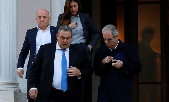 Yunanistanda koalisyon hükümeti sona eriyor