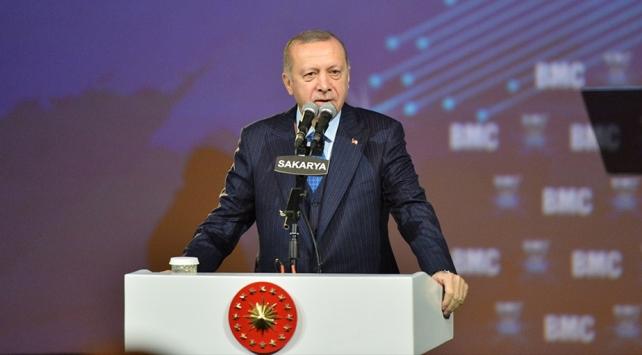 Cumhurbaşkanı Erdoğan: Tank Palet Fabrikasının satılacağı yalanını uyduruyorlar