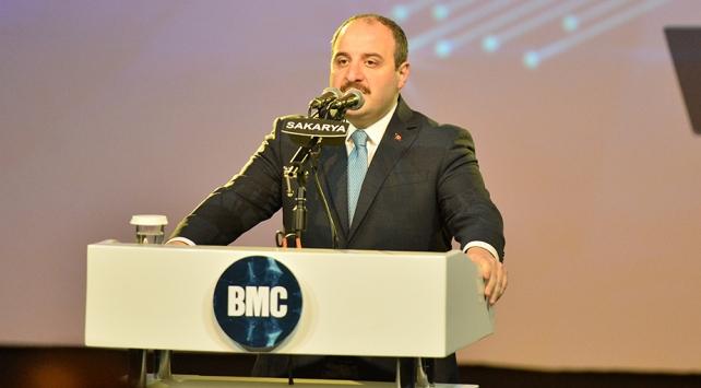 Sanayi ve Teknoloji Bakanı Varank: Amacımız dünya markası haline gelmek