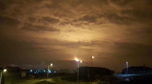 Sakarya'da doğalgaz dağıtım hattında patlama