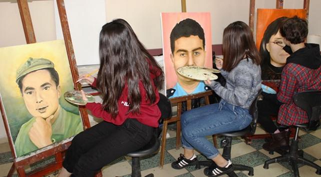 Osmaniyeli şehitler tablolarda yaşatılacak