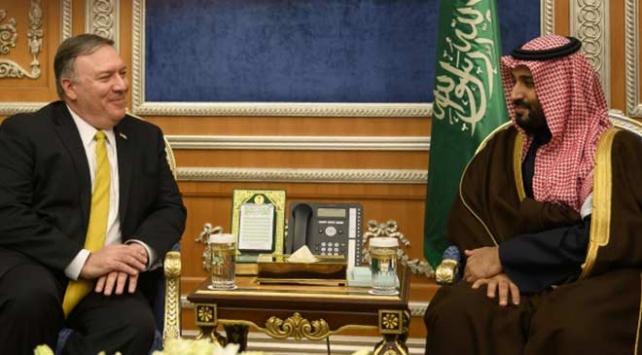 ABD Dışişleri Bakanı Pompeonun Suudi Arabistan ziyaretine Kaşıkçı eleştirisi