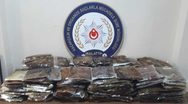 Malatyada kaçakçılık operasyonu: 10 gözaltı