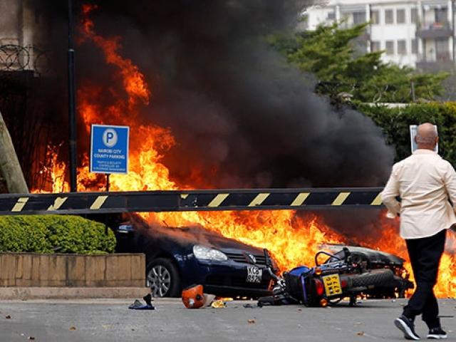 Kenya'da bir otele bombalı saldırı düzenlendi