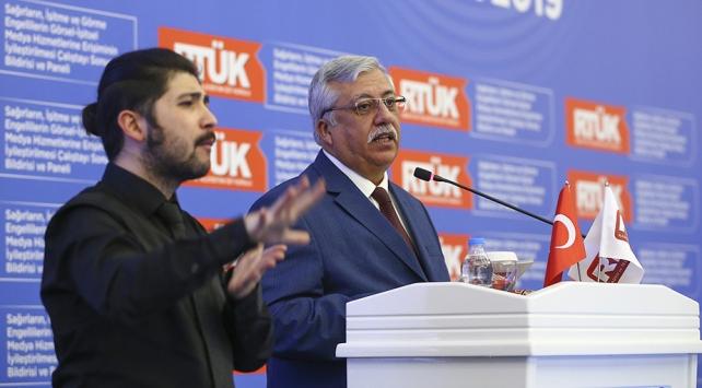 RTÜK Başkanı Yerlikaya: Medyada engellilere yönelik iyileştirmeler lütuf değil haktır