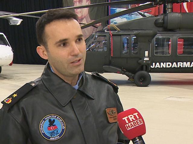 Hayat kurtaran kahraman Jandarma personeli TRT Haber'de