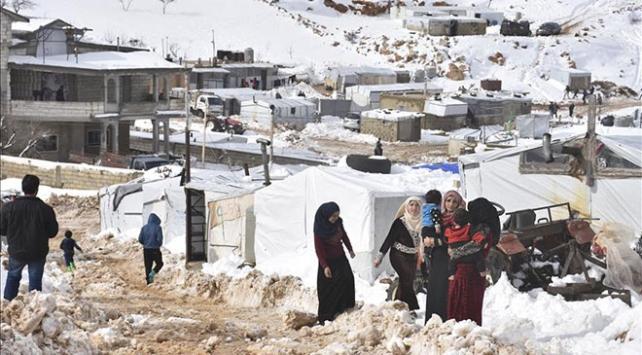 """Lübnanda Suriyeli sığınmacılar için """"acil durum"""" ilan edildi"""