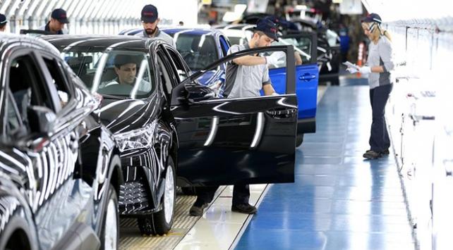 Kocaelide üretilen her 100 araçtan 87si ihraç edildi