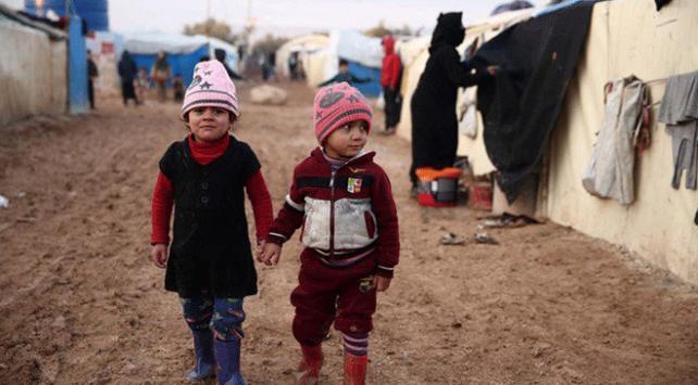 UNICEF: Geçtiğimiz haftalarda 15 Suriyeli çocuk soğuktan hayatını kaybetti