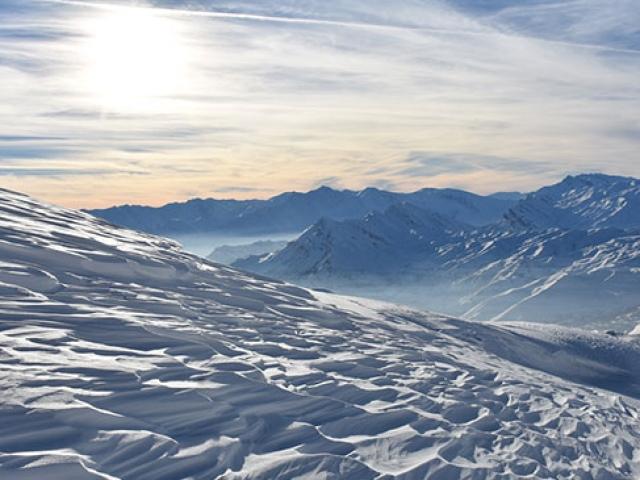 Cilo Dağı ile Sümbül Dağı arasındaki eşsiz manzara