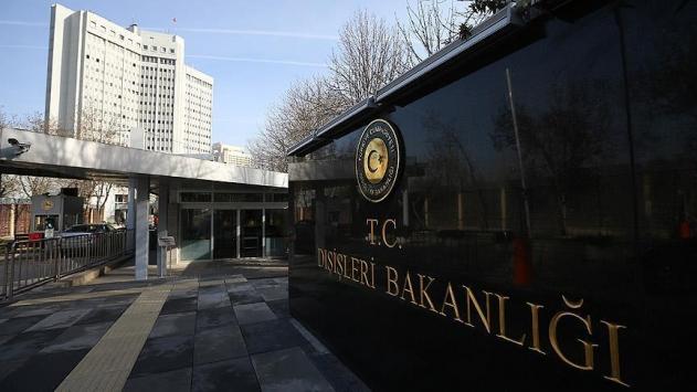 Dışişleri Bakanlığından Münbiçteki saldırıya kınama