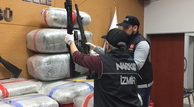 Avrupadan Türkiyeye uyuşturucu rotası: 18 şüpheli tutuklandı